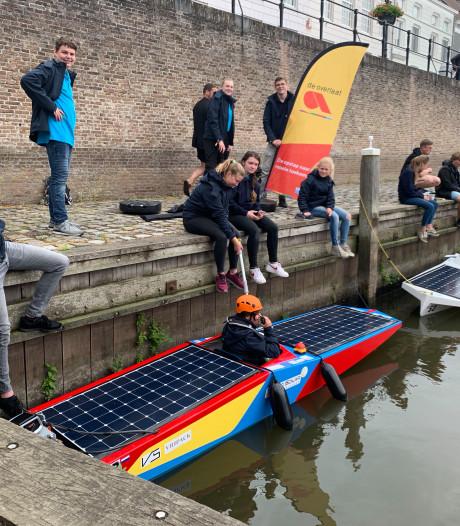 Young Solar Challenge Heusden is een thuiswedstrijd voor scholierenteams van De Overlaat