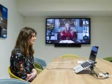 Spannend: Twentse studente Jenneke (24) beleeft online meeting met koningin Máxima