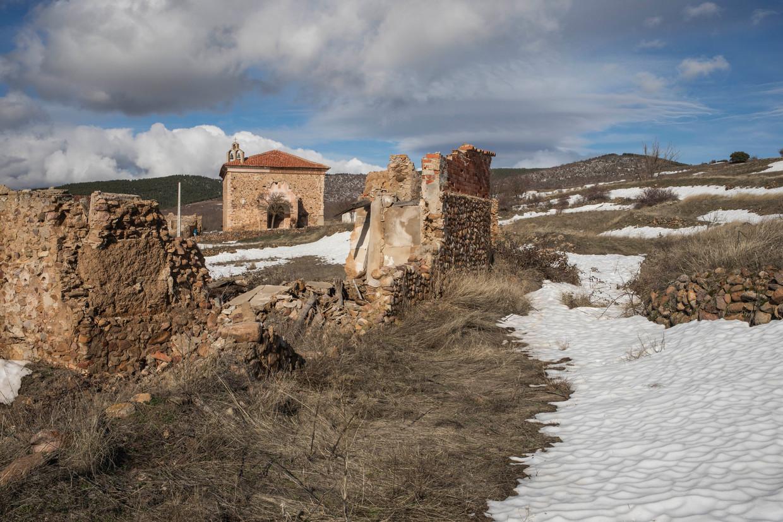 Het dorp Collados telt nog amper twee bewoners. Beeld RV