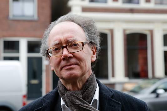 Frans Grijzenhout, hoogleraar kunstgeschiedenis aan de Universiteit van Amsterdam.