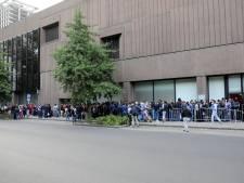 Trente migrants soignés devant l'Office des Étrangers