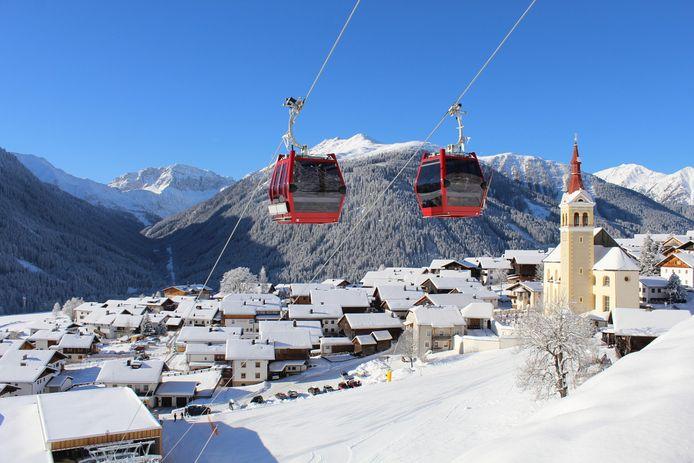 Een stadje in Tirol.