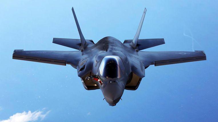 Een F-35 van Lockheed Martin. Beeld REUTERS
