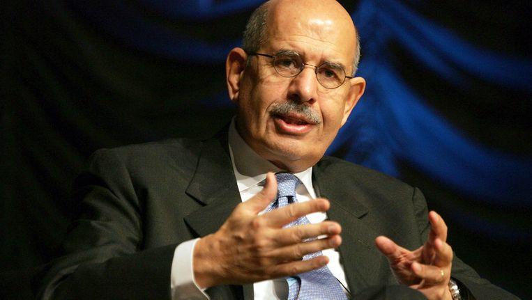 Nobelprijswinnaar voor de Vrede Mohammed ElBaradei. Beeld GETTY