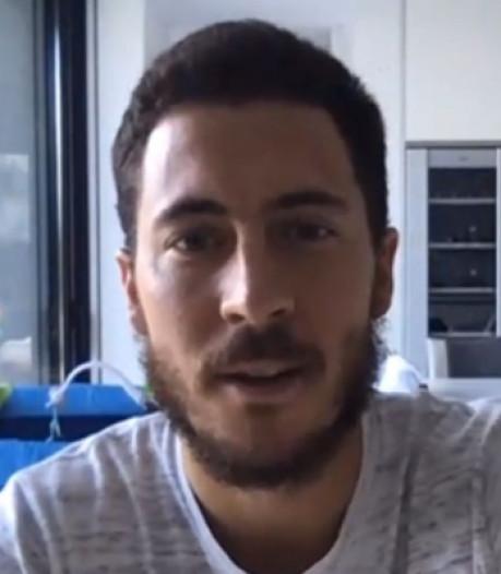 """Eden Hazard déçu du report de l'Euro: """"Je comptais être présent et en forme"""""""