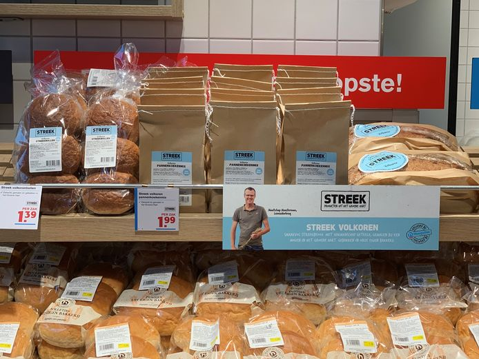 De tarwe voor de Streek-producten wordt geleverd door boerderij Munsterman uit Leimuiderbrug.
