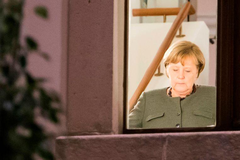 Het Belgische record is nog lang niet in zicht, maar de Duitse regeringsonderhandelingen slepen aan. Beeld AFP