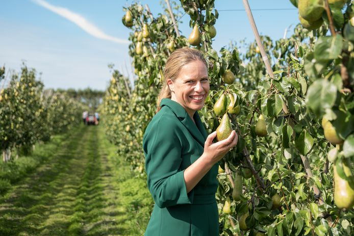 Landbouwminister Carola Schouten.