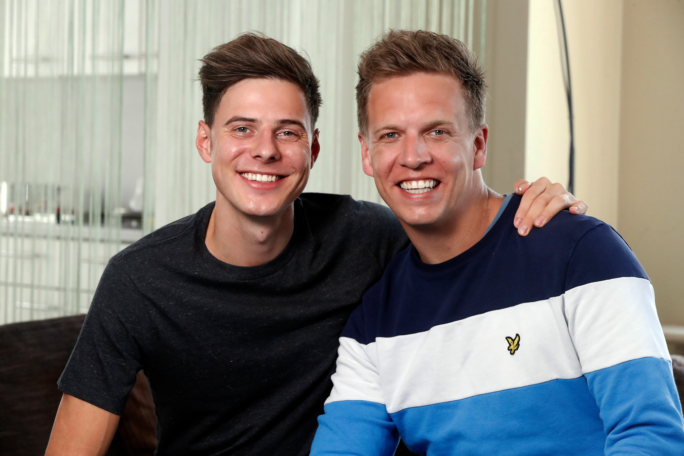 James Cooke en zijn partner Dorian
