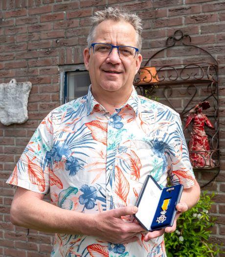 Muziekliefhebber Jack de Rooij is voor én achter de schermen actief en werd beloond met een lintje