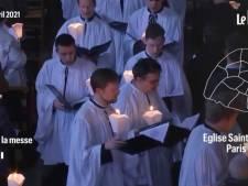 Une messe sans geste barrière ni distanciation sociale fait polémique à Paris