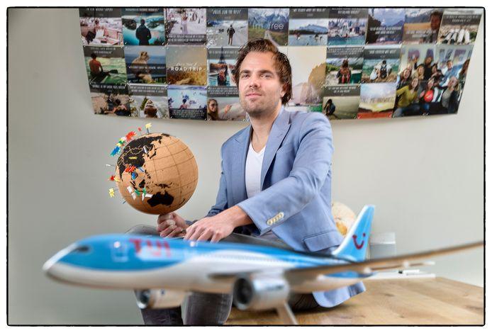 Eelko van Drongelen, één van de oprichters van WeFlyCheap.nl.