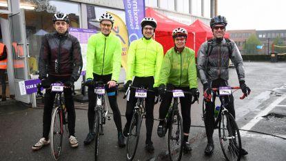 470295cfc Leuven Net zoals de profs hebben ook de wielertoeristen en recreanten de  Brabantse Pijl gereden met Heverlee als startlocatie. De Proximus Cycling.
