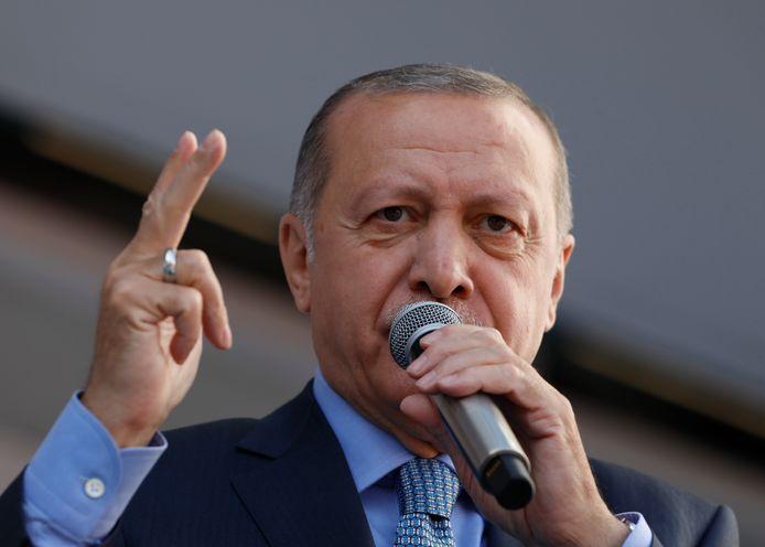 Turks president Recep Tayip Erdogan.