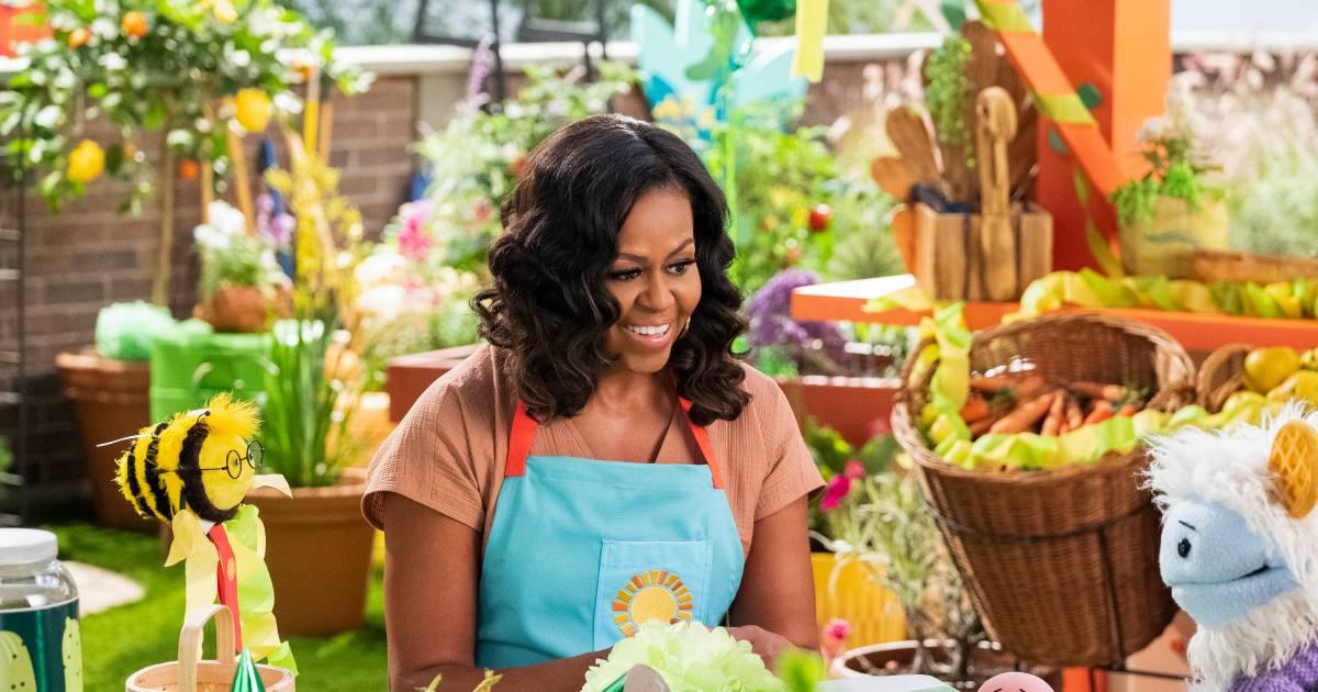 Michelle Obama in kleuterserie Netflix: 'Was deze serie er maar toen mijn kinderen jong waren' - AD.nl