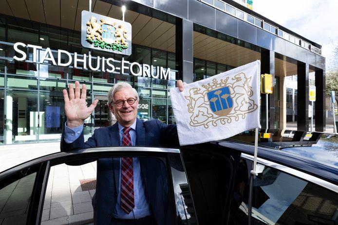 Charlie Aptroot nam maandag 30 maart afscheid als burgemeester van Zoetermeer.