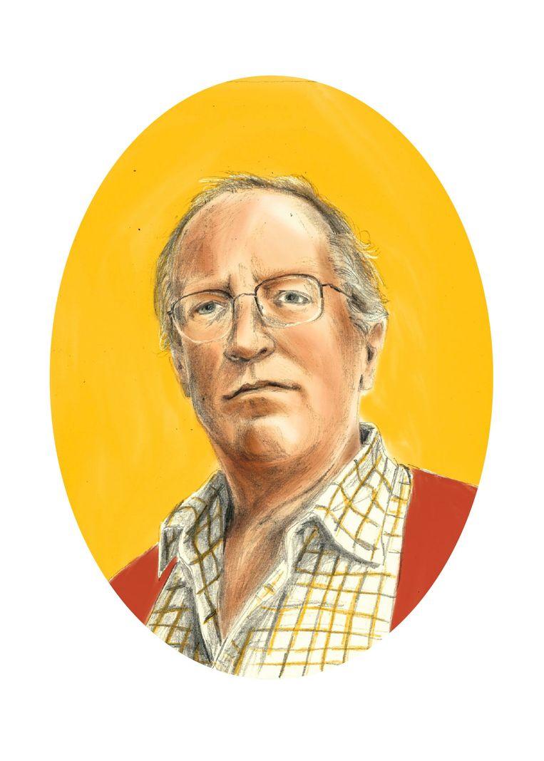 Rudi Vranckx: 'Robert, jouw boeken zouden verplichte kost voor elke internationale verslaggever met ambitie moeten zijn.' Beeld Penelope Deltour
