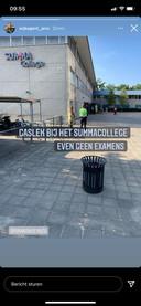 Summa College aan Sterrenlaan Eindhoven ontruimd vanwege gaslek.