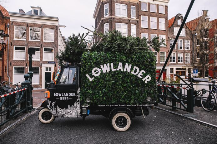 Lowlander haalt de bomen op in heel Nederland.