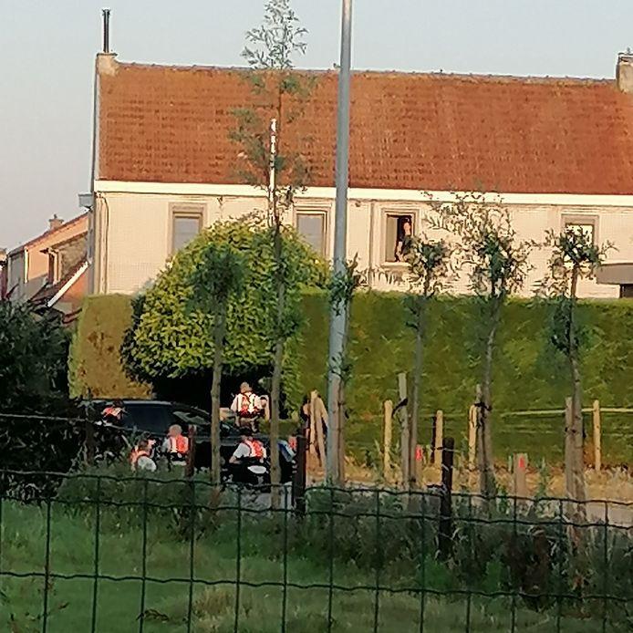 La maison du forcené, à Vrasene (Flandre-Orientale)
