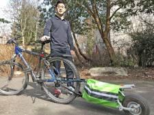 Elektrische 'buitenboordmotor' maakt van je fiets een E-Bike voor 400 euro