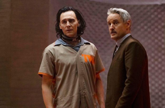Tom Hiddleston als Loki, Owen Wilson als Mobius M. Mobius