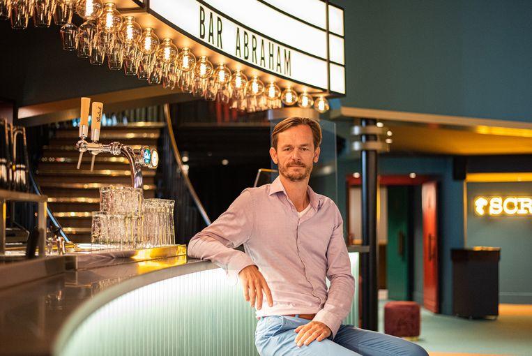 David Hanemaayer voor de nieuwe Bar Abraham.  Beeld Aziz Kawak