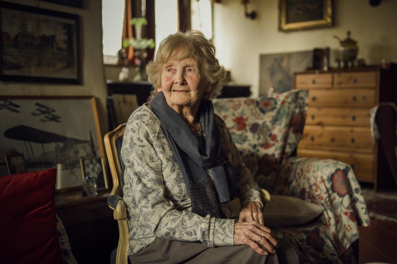 Marion Fowkes, de weduwe van de Belgische piloot Jan Van Risseghem.