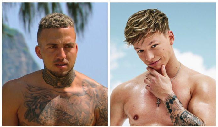 'Temptation Island'-deelnemer Zach ligt in de clinch met Dusty, uit het huidige seizoen van 'Ex on the Beach: Double Dutch'.