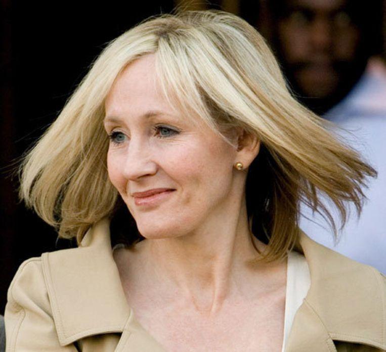 De Britse schrijfster J.K. Rowling aangekondigd dat op 4 december een nieuw boek zal verschijnen. Foto ANP/Justin Lane Beeld