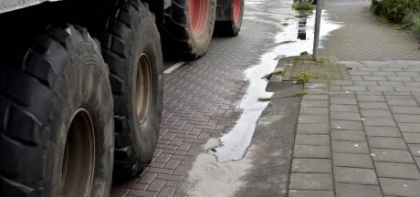 Olie op wegen in Raamsdonskveer en Geertruidenberg