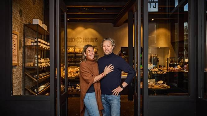 Dimitri begon in kleine bakkerij, nu heeft hij zestien vestigingen in het hele land