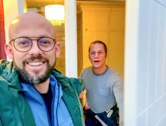 Staf en de kids halen halloweengrap uit in 'Camping Coppens' en Mathias staat plots voor de deur