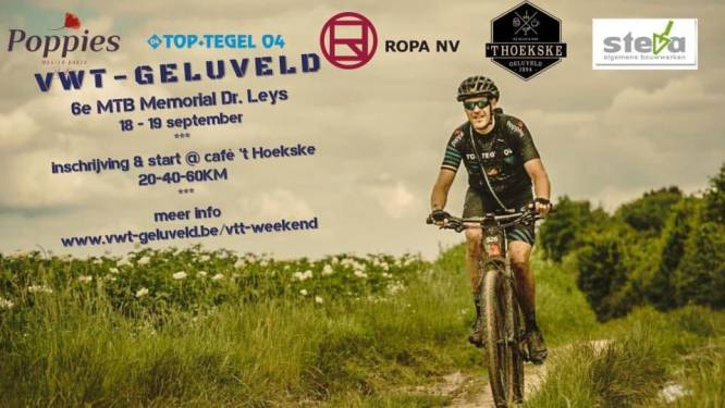 Zaterdag en zondag mountainbiketocht vanuit café 't Hoekske, keuze uit drie lussen