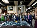 Koning Willem-Alexander bezocht vorig jaar Sectie-C.