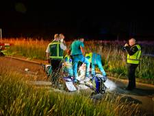 Man zwaargewond na scooterongeluk in Veldhoven, traumahelikopter opgeroepen