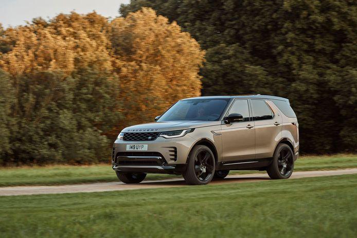 De Land Rover Discovery komt als beste uit de test.