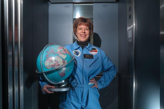 Nancy Vermeulen uit Hove was in 2008 een van de weinige vrouwelijke kandidaten om astronaut te worden.