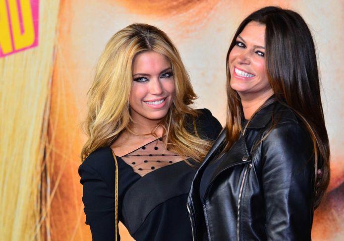 Sylvie en Sabia in betere tijden, in 2013.