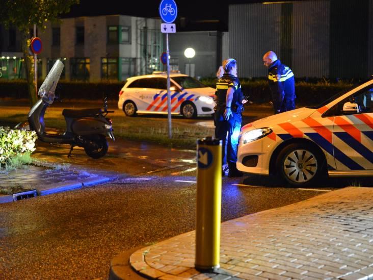 Gladde wegdek werkt niet in voordeel van vallende scooterrijder in Etten-Leur