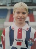 Michael de Leeuw in de jeugd van Willem II