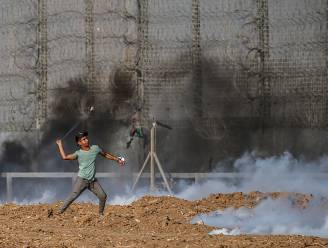 Tientallen Palestijnen gewond bij protesten in Gaza
