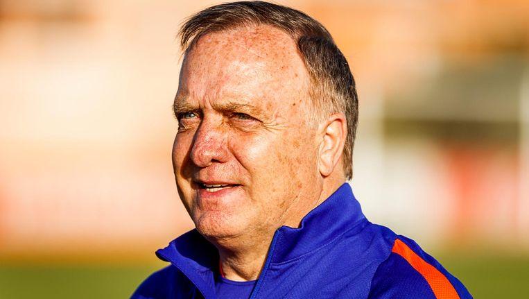 Dick Advocaat is de nieuwe bondscoach. Beeld anp