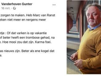 """Van Ranst met dood bedreigd door Limburgse dancinguitbater: """"Ik wil in dialoog met Marc"""""""