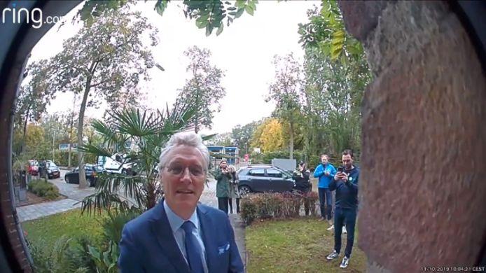 Still uit video over de beeldbel