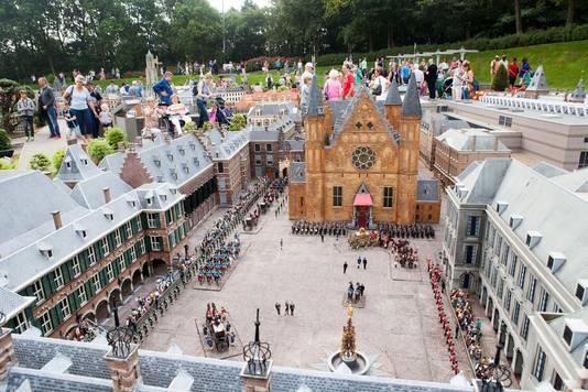 Het Binnenhof in miniatuur.