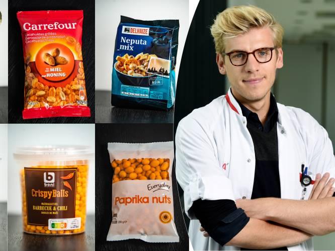 """Welke borrelnootjes uit de supermarkt zijn het gezondste? """"Een handje zoute noten bevat evenveel calorieën als een pint"""""""