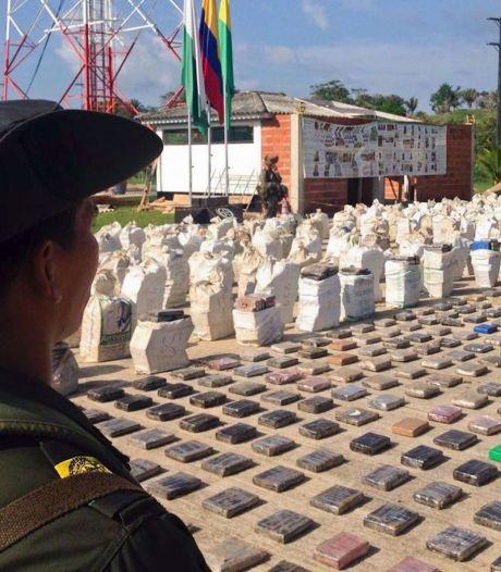 Leger Colombia doet 'grootste cocaïnevangst ooit'