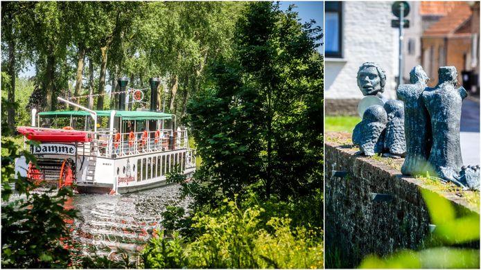 Tijl Uilenspiegel speelt nog steeds een belangrijke rol in Damme, waar op tal van manieren wordt verwezen naar de literaire held. Denk aan de bekende toeristenboot Lamme Goedzak en het standbeeld van Tijl.