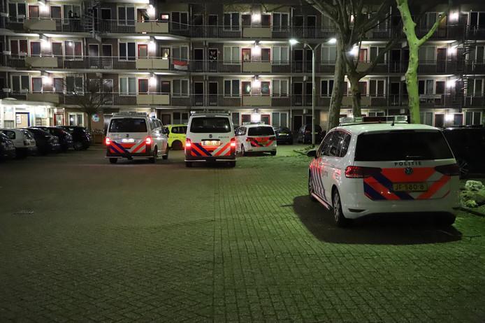 Een gewonde na een steekpartij in Nijmegen aan de Slotemaker de Bruïneweg